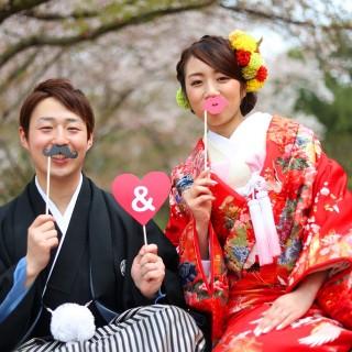 日本人なら和の衣裳で写真を残そう!プラン