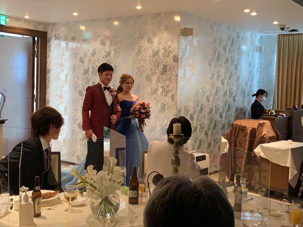 素敵な結婚式を挙げることが出来ました